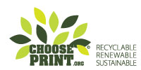 Recyclable, Renewable, Sustainable - ChoosePrint.org